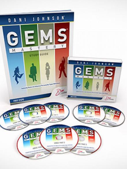"""GEMS Course"" (3 DVD, 3 CD, 1 datu CD, darba burtnīca)"