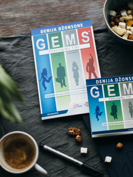 GEMS personibas tipi – ievadkurss(1 dvd, 1 cd, 1 data + darba burtnica)