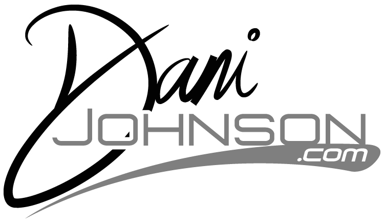 Dani Johnson black logo